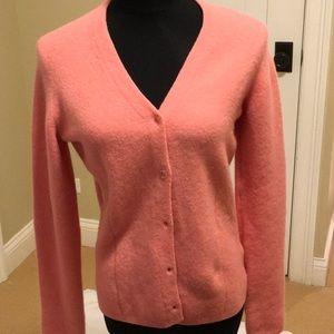 Margaret OLeary Cardigan, Med, pink